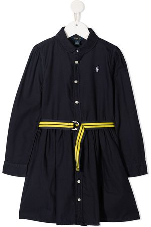 Ralph Lauren Polo Pony embroidered shirt dress