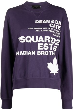 Dsquared2 Logo-print crew-neck sweatshirt