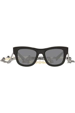 Dolce & Gabbana D-frame chain-embellished sunglasses