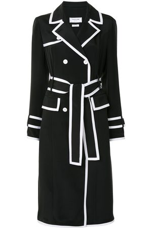 Thom Browne Double-breasted silk coat