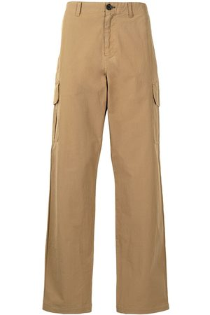 Paul Smith Men Cargo Pants - Straight-leg cargo trousers
