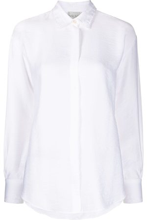 FORTE FORTE Long-sleeved draped shirt