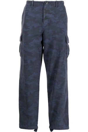 Paul Smith Men Cargo Pants - Camouflage print cargo trousers