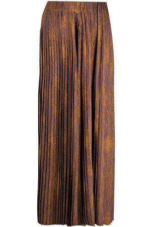 HENRIK VIBSKOV Women Wide Leg Pants - Jelly plisse palazzo trousers