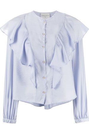 FORTE FORTE Ruffled-detail blouse