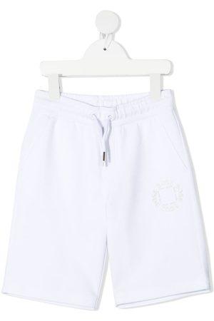 HUGO BOSS Boys Shorts - Logo print track shorts