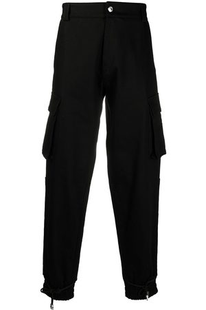 GCDS Straight-leg cargo trousers