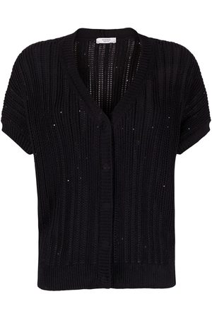 PESERICO SIGN V-neck sequin-embellished cardigan