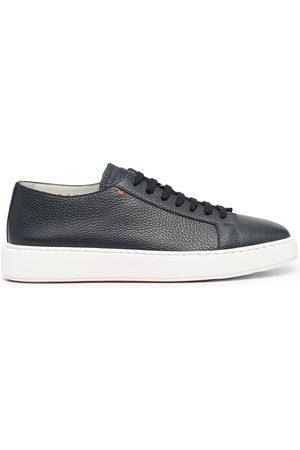 santoni Logo low-top sneakers