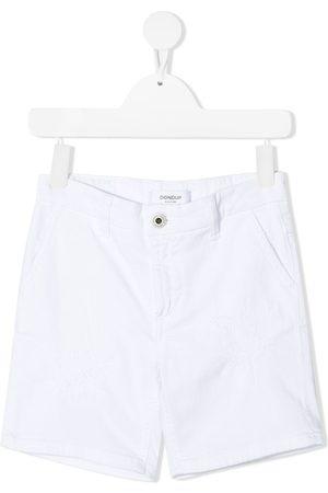 Dondup Boys Shorts - High-rise cotton shorts