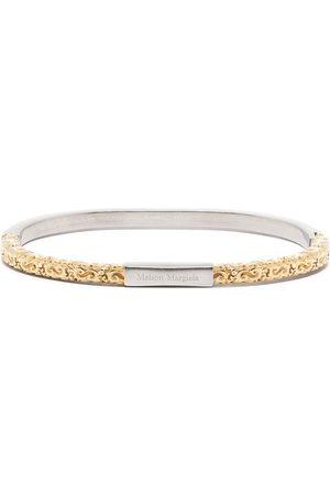 Maison Margiela Women Bracelets - Engraved logo bracelet