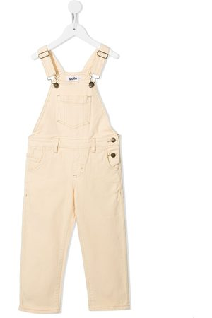 Molo Girls Dungarees - Front patch pocket dungarees