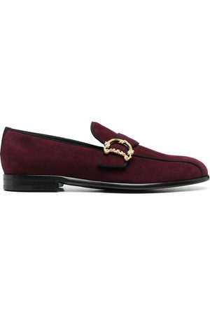 Dolce & Gabbana Men Loafers - Baroque logo-plaque loafers