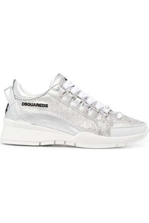 Dsquared2 551 glitter-embellished low-top sneakers