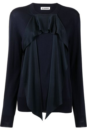 Jil Sander Draped-panel jumper
