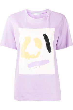 REJINA PYO Abstract-pattern print cotton T-shirt