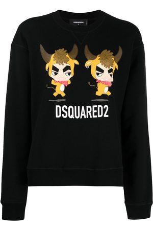 Dsquared2 Women Sweatshirts - Logo-print sweatshirt