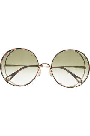 Chloé Oversized round-frame sunglasses