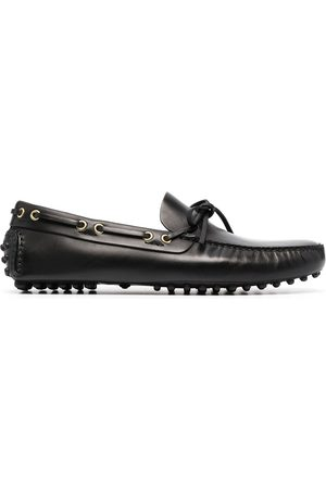 CAR SHOE Men Loafers - Lace-up leather loafers