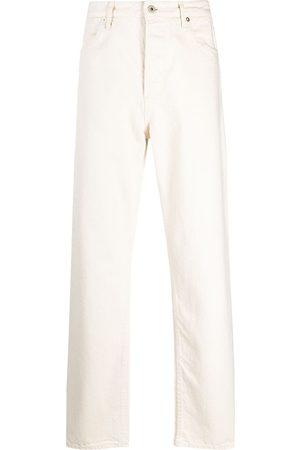 Jil Sander Men Straight - Logo-patch jeans