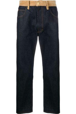 Marni Corduroy-panelled jeans