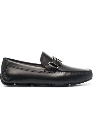 Salvatore Ferragamo Men Loafers - Logo-plaque loafers