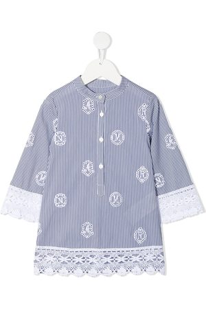 ERMANNO SCERVINO JUNIOR Girls Blouses - Broderie anglaise striped blouse