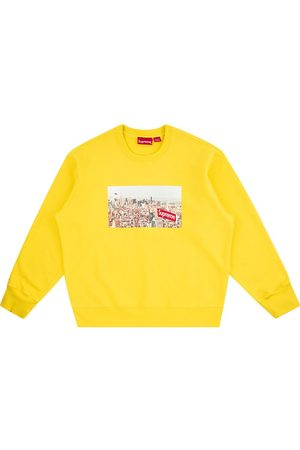 Supreme Men Sweatshirts - Aerial crewneck sweatshirt