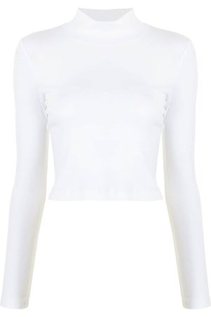 ROSETTA GETTY Roll neck cotton T-shirt