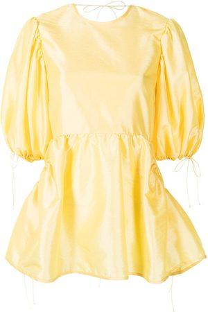 Cecilie Bahnsen Women Tunics - Lulu peplum tunic top