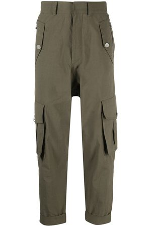 Balmain Cropped cargo trousers