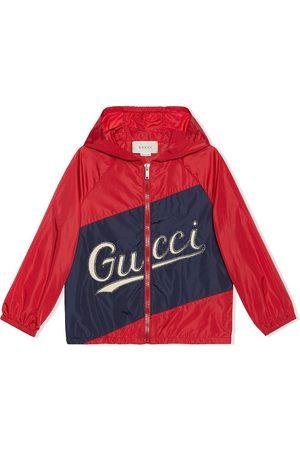 Gucci Boys Bomber Jackets - Stitched logo jacket
