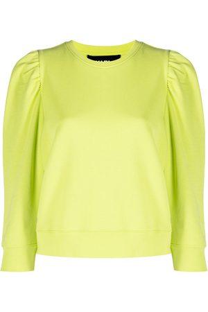 Karl Lagerfeld Puffy sleeve logo sweatshirt