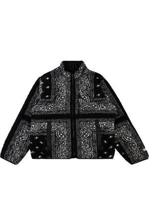 Supreme Reversible bandana fleece jacket