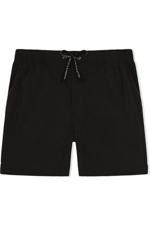 Dolce & Gabbana Boys Swimming Briefs - Drawstring swim shorts