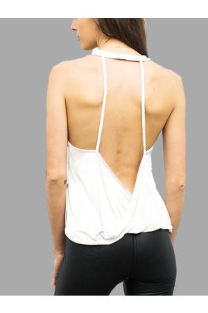 YOINS Rapidry Backless Gym Tank Top