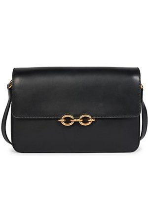 Saint Laurent Maillon Leather Crossbody Bag