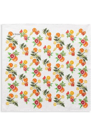 Eton Printed Silk Pocket Square