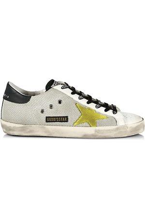 Golden Goose Men's Superstar Net Low-Top Sneakers