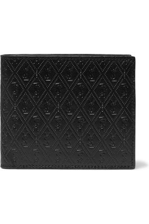 Saint Laurent Men Wallets - East/West Logo-Debossed Leather Billfold Wallet