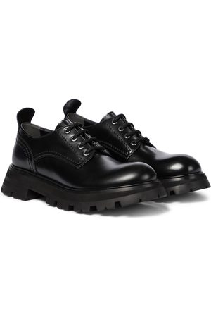 Alexander McQueen Women Brogues - Wander leather Derby shoes