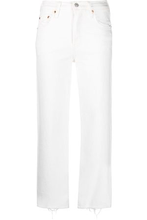Levi's High waisted straight jeans