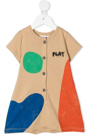 Bobo Choses Baby Rompers - Colour block romper