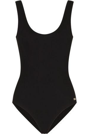 Dolce & Gabbana Logo lettered swimsuit