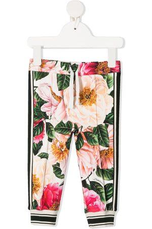 Dolce & Gabbana Baby Leggings - Floral-print leggings