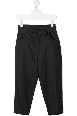 DOUUOD KIDS High-rise slouchy trousers