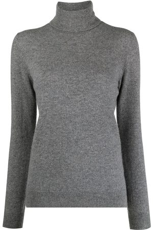 12 STOREEZ Women Jumpers - Roll-neck cashmere jumper