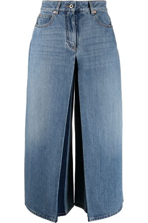 VALENTINO Women Denim Skirts - Denim skirt trousers