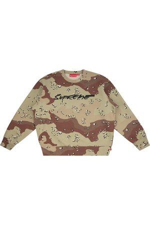 Supreme Men Sweatshirts - Futura logo crewneck sweatshirt