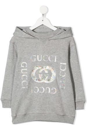 Gucci Vintage logo-print hoodie